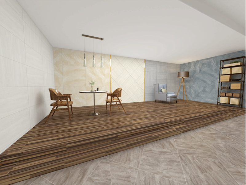Whole body marble tiles